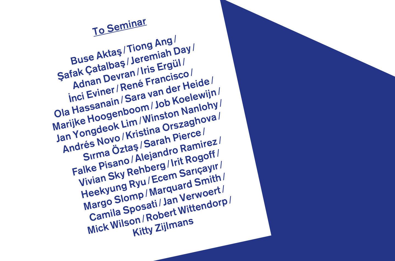 To Seminar