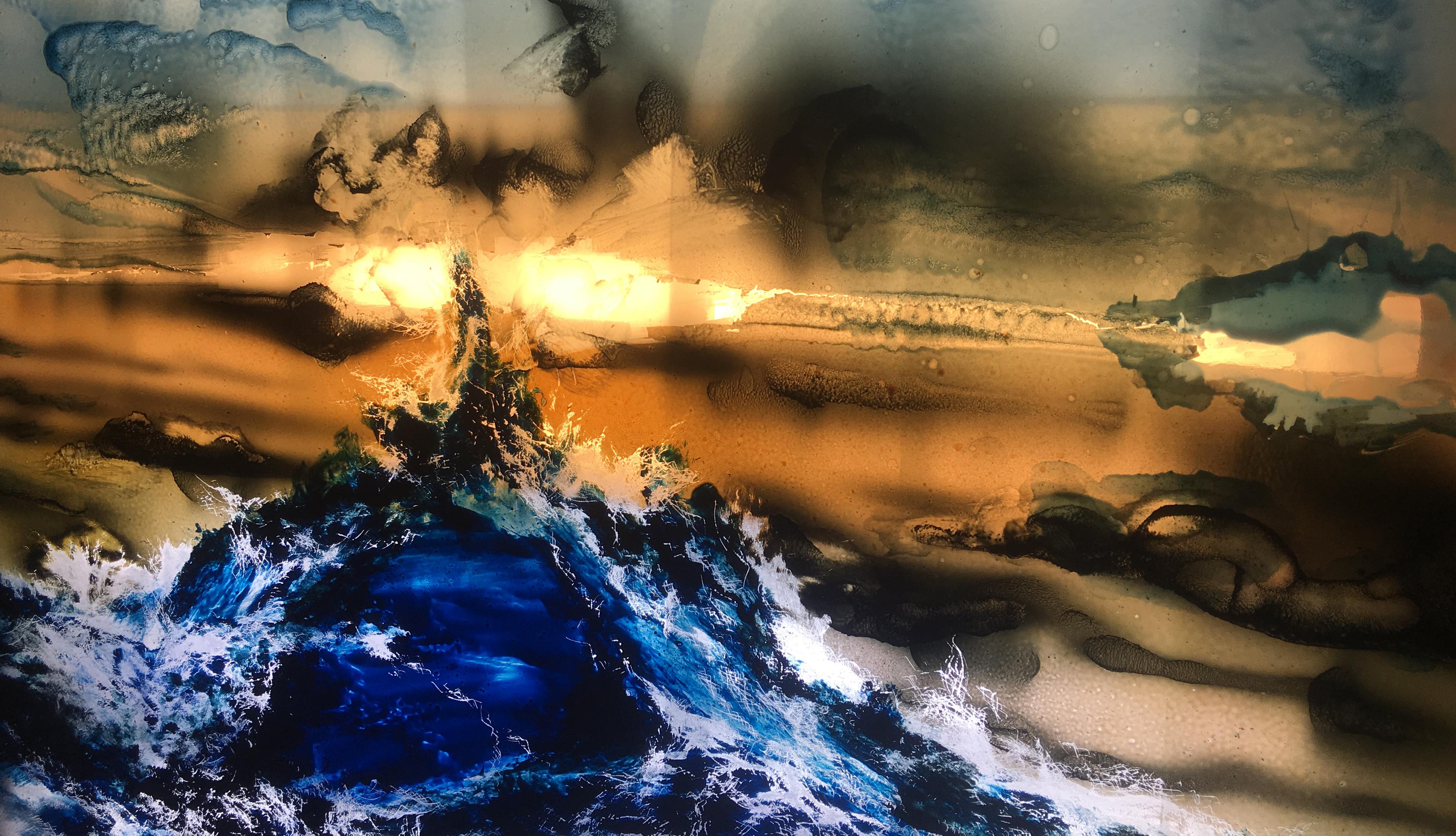 Tentoonstelling Jop Vissers Vorstenbosch – Cubicle Sunset