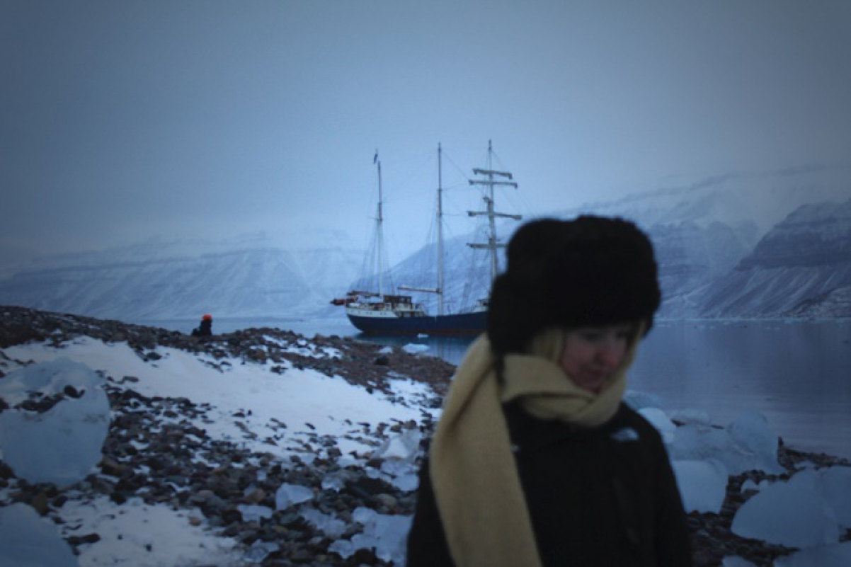 Shifting shades of light: stories from the North Pole