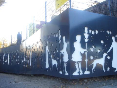 De Moor, de dame en haar hondje, Berkman en Janssens 2006