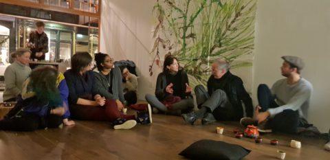 In de tuin(editie winter), Schoutenstraat 10, dag 2: de tea ceremonie