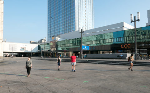 Listen to the Sound of the City, Berlin Alexanderplatz 2019