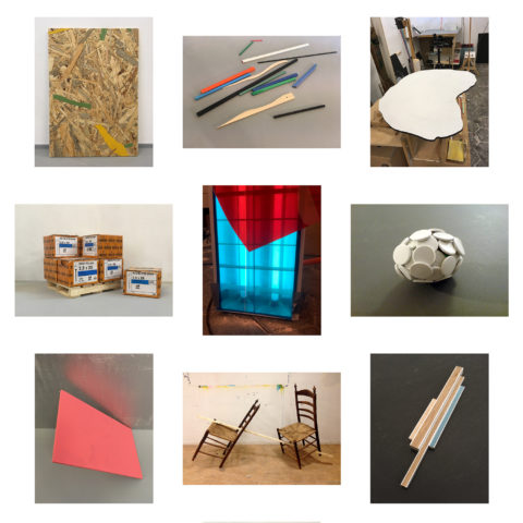 Collection of studio images, 2019