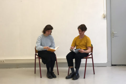 Two Readers Reading