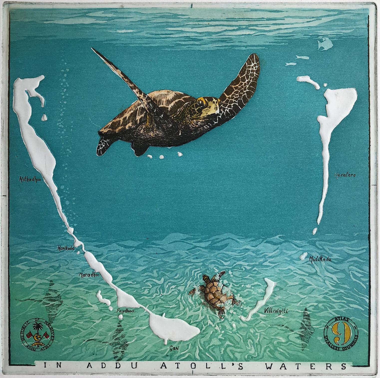 In Addu Atolls Waters