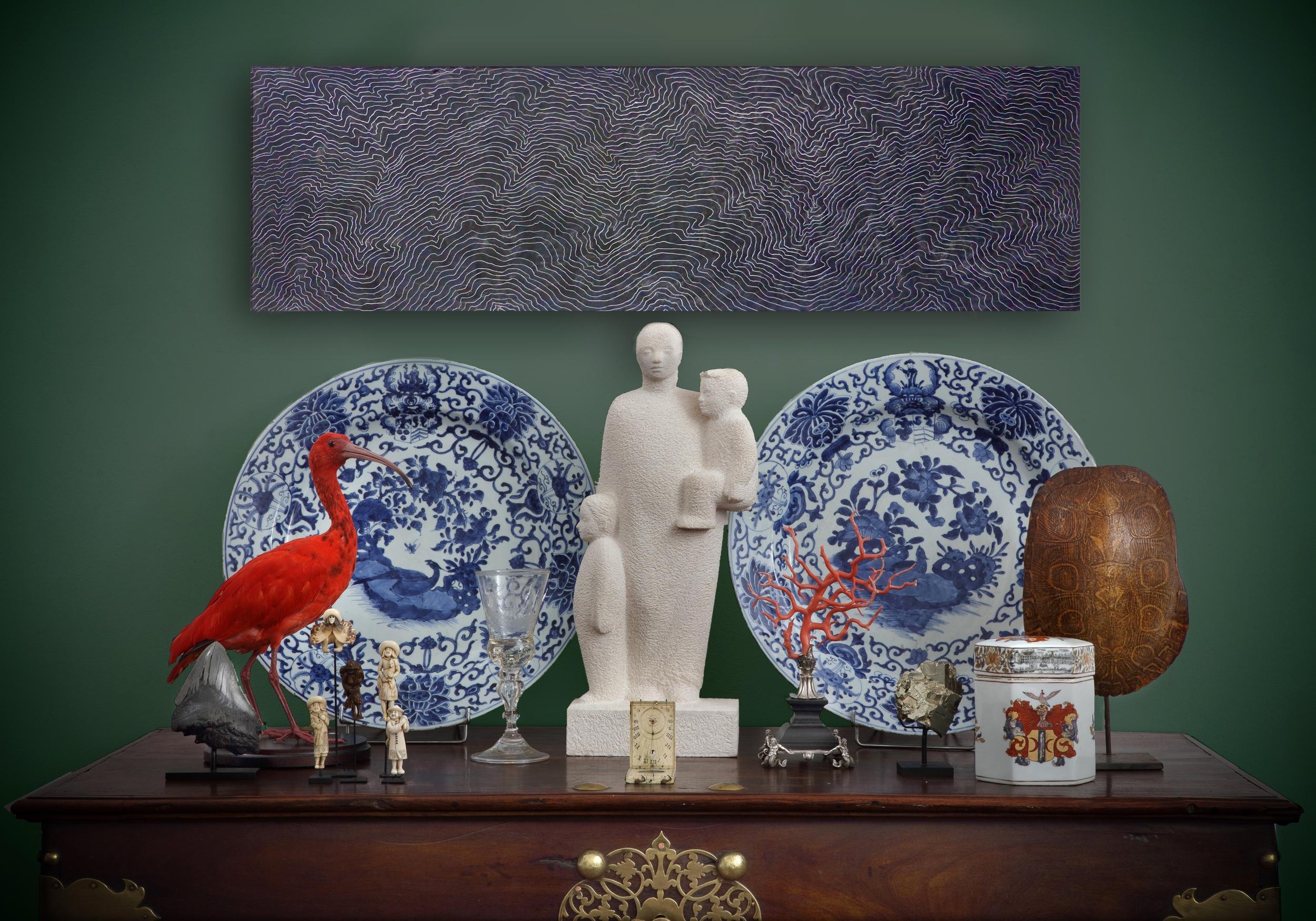 Dorry van Haersolte (werken op papier en hout), Ellie Hahn (beelden) en Guus Röell – Fine Arts & Antiques