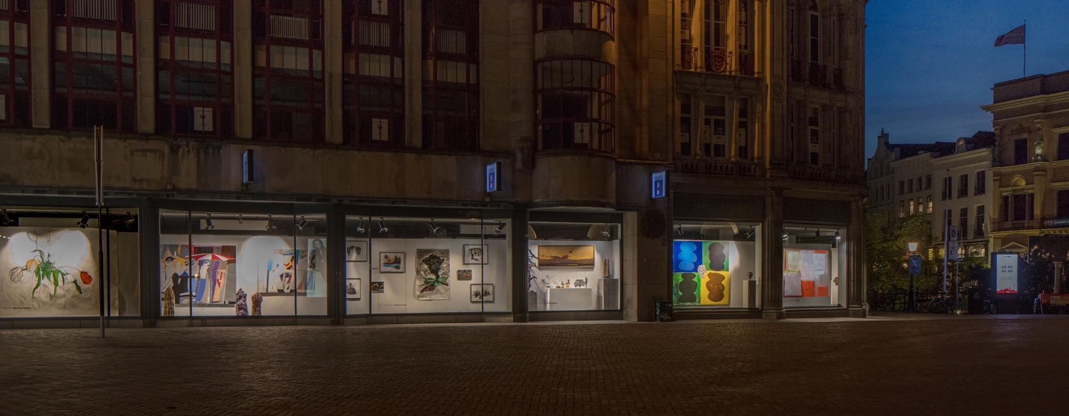 Art Utrecht / Broese wisselende exposities en etalages